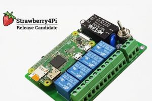 Strawberry4Pi to launch Raspberry Pi IoT control HAT on Kickstarter