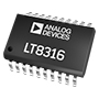 LT®8316 600 Vin Micropower No-Opto Isolated Flyback Controller