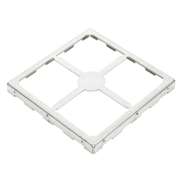 Leader Tech Emi//Rfi Circuit Board Shield Surface Mount Shield 1.326X1.45X0.2 Non-Vented Single Pc 300 PcS//Reel
